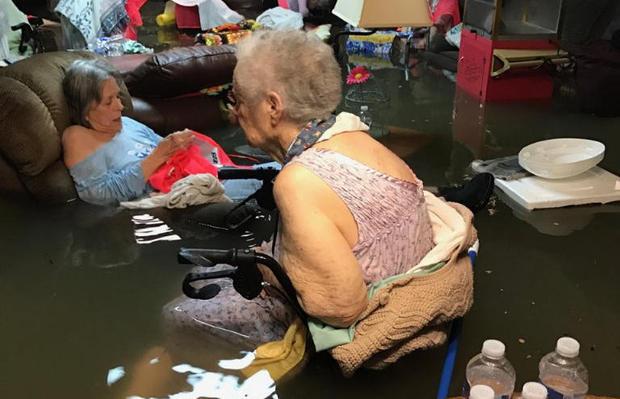 senior citizen evacuation